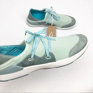 OluKai Miki Li Women's Pale Moss/Dolphin Shoe